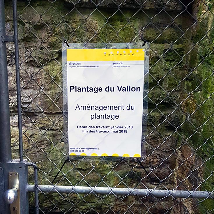 Le chantier du plantage a repris, démolition et évacuation des structures existantes sur la parcelle 1 et 2