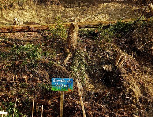 Après le début d'incendie derrière les AMV, un glissement de terrain!