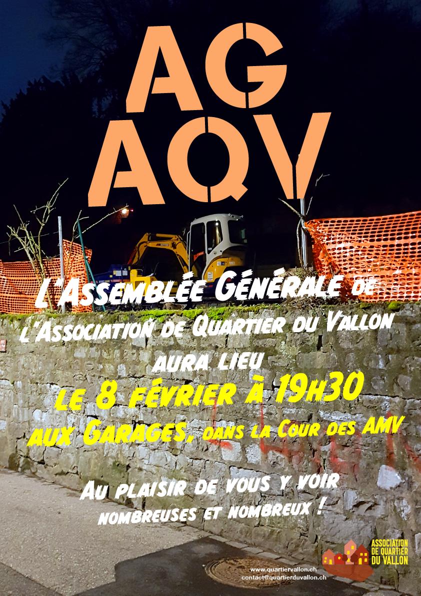 Assemblée Générale de l'AQV