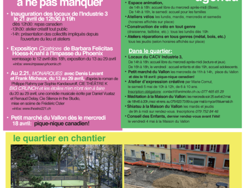 Newsletter avril 2018