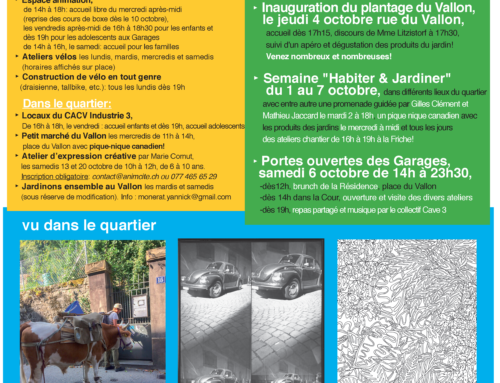 Newsletter d'octobre 2018