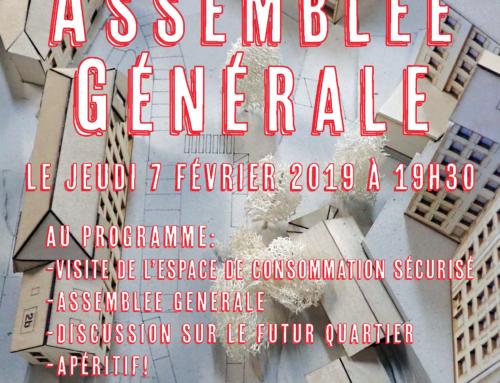 AG AQV 7 février, 19h30, Fondation ABS, le Passage