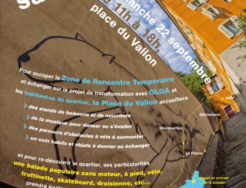 Journée sans voitures au Vallon, le dimanche 22 septembre de 11h à 18h!