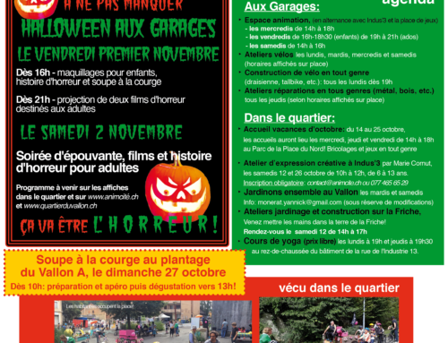 La newsletter d'octobre 2019!