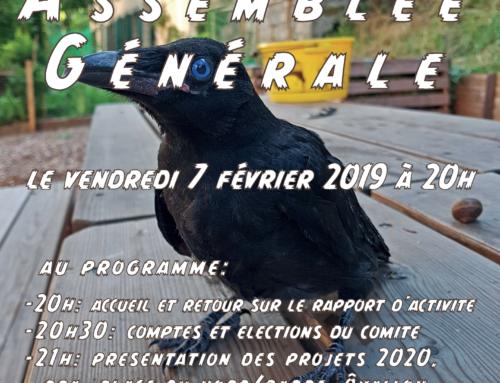 ASSEMBLEE GENERALE AQV LE VENDREDI 7 FEVRIER A 20H AU PASSAGE