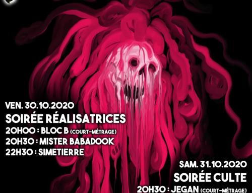 La 2ème édition du festival du film d'horreur aux Garages du Vallon, le vendredi 30 octobre et samedi 31 octobre!
