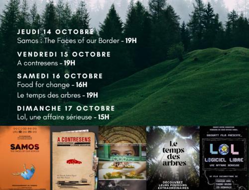 Festival du Film Vert, du jeudi 14 au dimanche 17 novembre aux Garages
