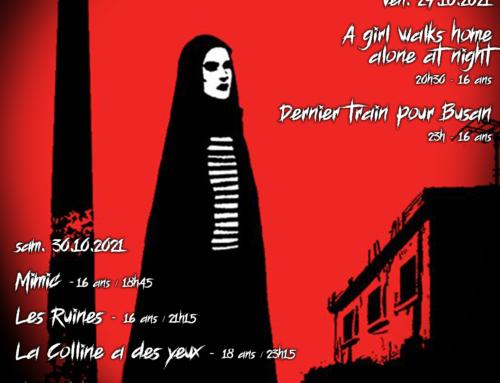 3ème édition du festival du film d'horreur aux Garages du Vallon les vendredis 29 et samedi 30 octobre!